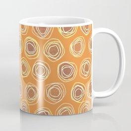 Gotta Be So Orange and Loopy Abstract Coffee Mug
