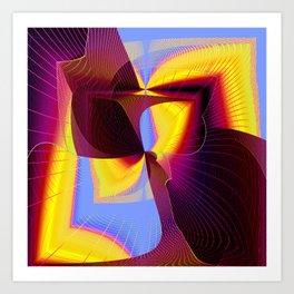 covert symetry Art Print