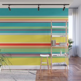 Color Stripes 2 Wall Mural
