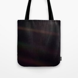 Mote of dust, suspended in a sunbeam Tote Bag