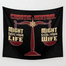 D&D - Chaotic Neutral Wall Tapestry