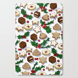 Christmas Treats and Cookies Cutting Board