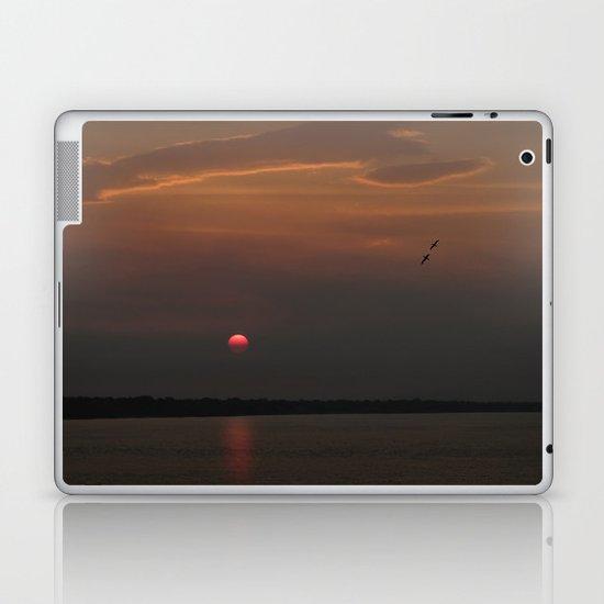 Red Sun Laptop & iPad Skin