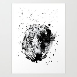 Cluster Bomb Art Print