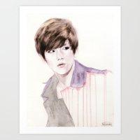 EXO Baekhyun  Art Print