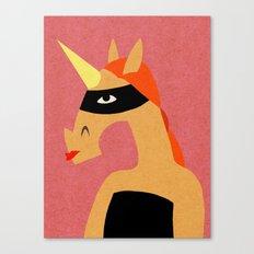 Masked Unicorn V03 Canvas Print