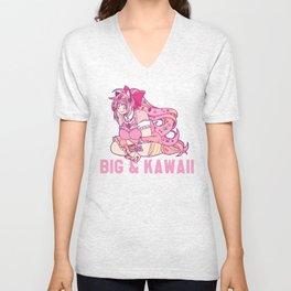 Big & Kawaii Unisex V-Neck