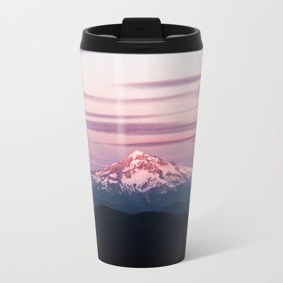 Mount Hood XIII Metal Travel Mug