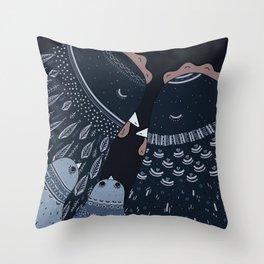 Chicken Nap Throw Pillow