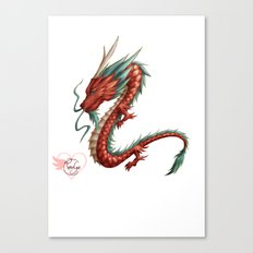 Dragon pure Canvas Print