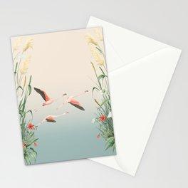 Doñana's flamingos flight Stationery Cards