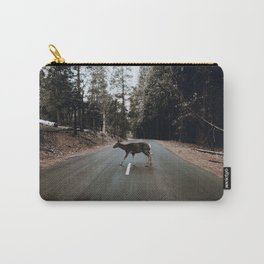 Deer Crossing / Yosemite, California Carry-All Pouch