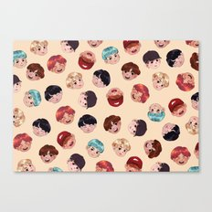 BTS Pattern Canvas Print