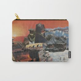 Tibetan Montage 1984 Carry-All Pouch