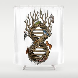 Infinitree of Life Shower Curtain