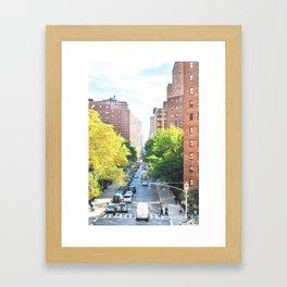 262. High line View, New York Framed Art Print