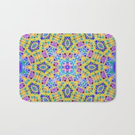 Persian kaleidoscopic Mosaic G521 Bath Mat