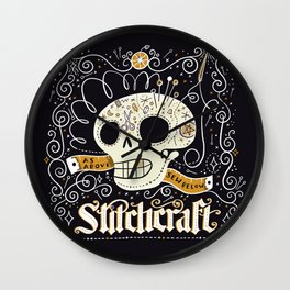 Stitchcraft Wall Clock