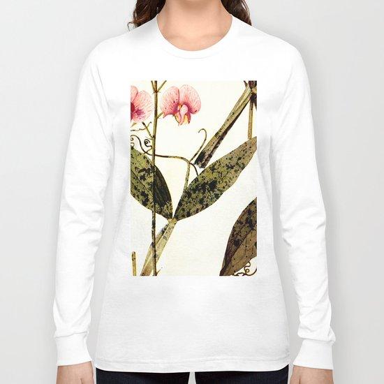 modern sweet peas Long Sleeve T-shirt