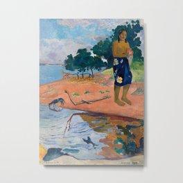 Paul Gauguin - Haere Pape Metal Print