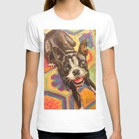 boston terrier T-shirts featuring Boston Terrier by Good Artitude