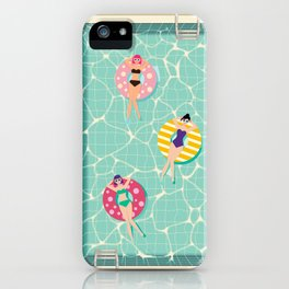 At The Pool iPhone Case