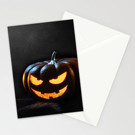 Halloween Pumpkin Jack-O-Lantern Spooky Stationery Cards