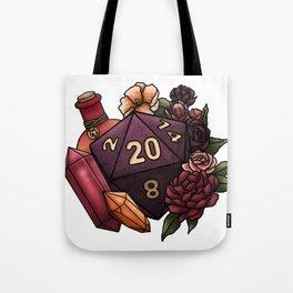 Sorcerer Class D20 - Tabletop Gaming Dice Tote Bag