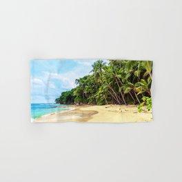 Tropical Beach - Landscape Nature Photography Hand & Bath Towel