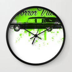 Galactic Hearse Wall Clock