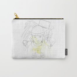 Don't waste electricity Carry-All Pouch