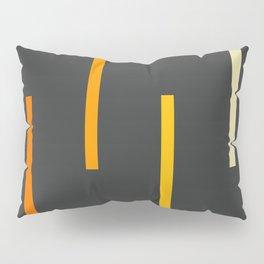 Abstract Minimal Retro Stripes Ashtanga Pillow Sham