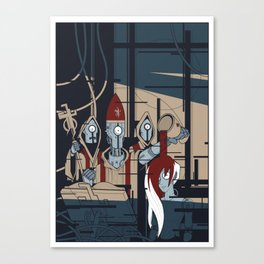 ROBONOMICOM Canvas Print
