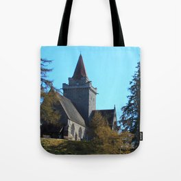 Crathie Church, Balmoral, Scotland Tote Bag