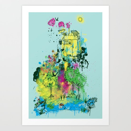 Ecosystem Art Print