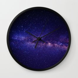 Summer Shore Galaxy Wall Clock