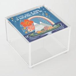 A little slice of heaven Acrylic Box
