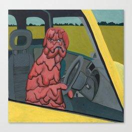 Acid Hound Canvas Print