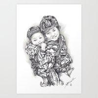 Hmong Art Print