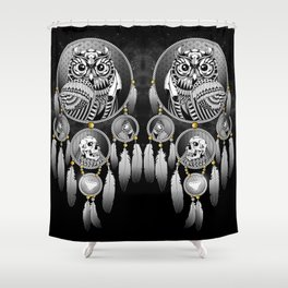 Bring the Nightmare Shower Curtain