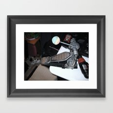 One Man's Trash, Part I Framed Art Print