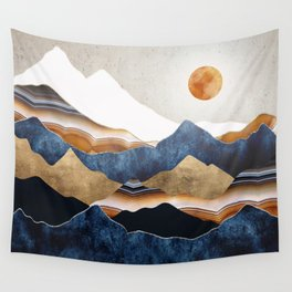 Amber Sun Wall Tapestry