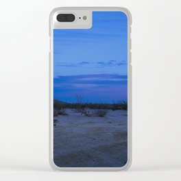 Anza Borrego Sunset Clear iPhone Case