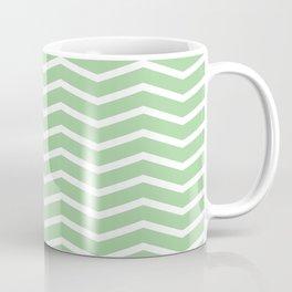 Mint Chevron Pattern 3 Coffee Mug