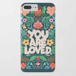 you are loved - color garden iPhone Case