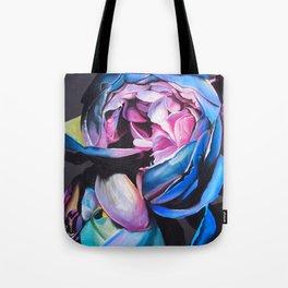 Rose chalk drawing Tote Bag