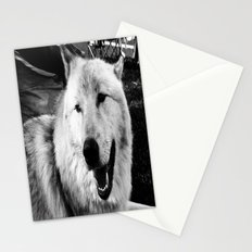 Wolf Dog Stationery Cards