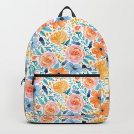Bold Blooms Backpack