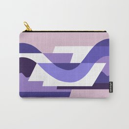 SUISSE - Art Deco Modern: PASSION FOR PURPLE Carry-All Pouch