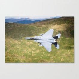 Low Flying F-15E Strike Eagle Canvas Print